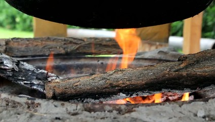 Fire place - cooking