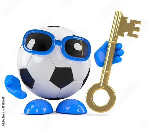 3d Football has the key