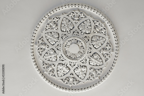 Plaster Ceiling Rose or plate