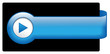 Blue Web Button (pin badge icon symbol blank template vector)