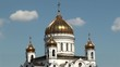 Cathedral of Christ the Saviour in Moscow, Russia.