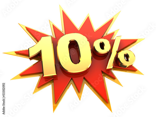 special offer ten percent