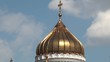 Dome of Christ the Saviour in Moscow, Russia