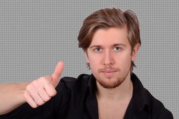 junger mann