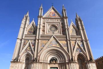 Orvieto Cathedral, landmark in Italy