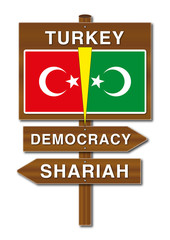 Turkey, Democracy or Shariah