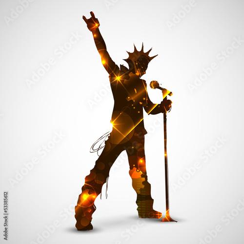 Singing Rock Star