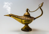Aladdin magic lamp east design