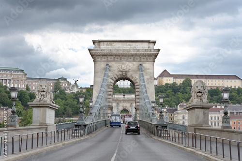 Budapest Castle and Chain bridge