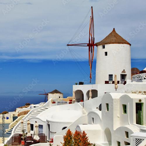 Santorini, windmill -hotell