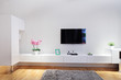Modern minimal living room