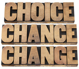 choice, chance and change