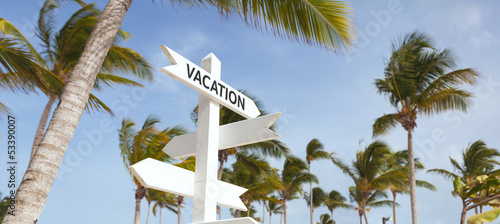 Signpost multiple, vacation