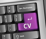 "Keyboard Illustration ""CV"""