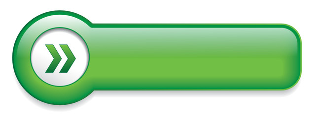 Green Web Button (sign badge icon symbol blank template vector)