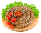 Ring of fried sausage