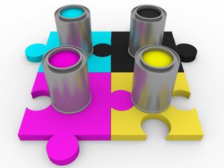 cmyk tints puzzle
