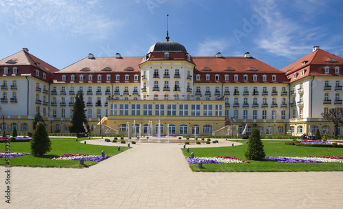 Classic mansion in Sopot, Poland
