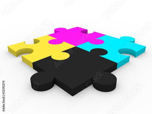 CMYK pieces