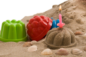 Geburtstag am Strand