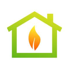 House Logo, gas