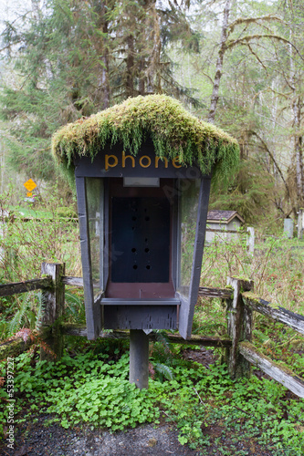 phone boot in national park