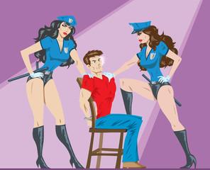 Sexy interrogation