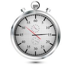Stopuhr Chronometer mit zusätzlichen Zeitanzeigen