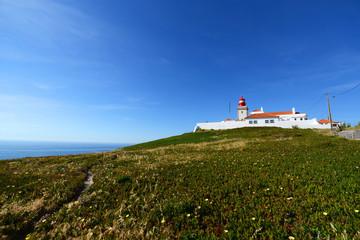 Cabo da Roca Lighthouse, Sintra, Portugal