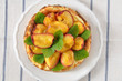 Käsekuchen mit Aprikosen