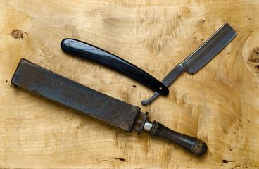 Belt and Razor