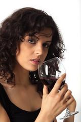 Vino rosso italiano