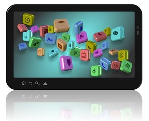 Apps on tablet