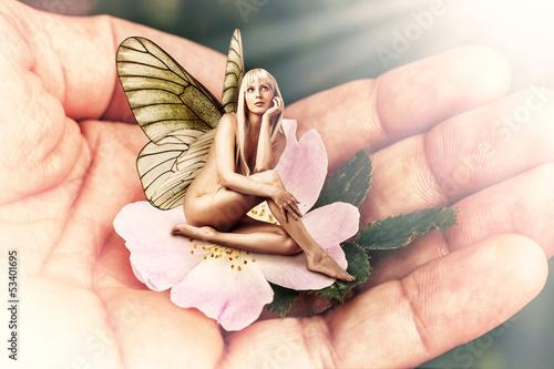 Fototapeten,fairy,pixie,blume,floral