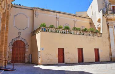 Public Library. Brindisi. Puglia. Italy.