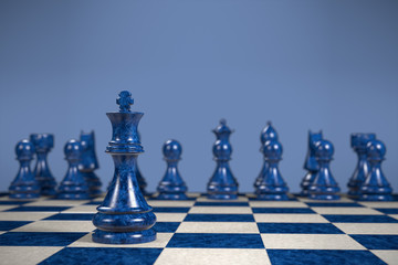 chess game: strategy is necessary but not sufficient