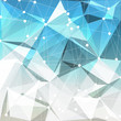 Abstract geometric background. Vector.