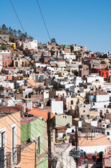 Labyrinthine village of Zacatecas (Mexico)