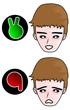 Like and dislike expressions