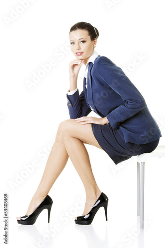 Portrait of successful businesswoman