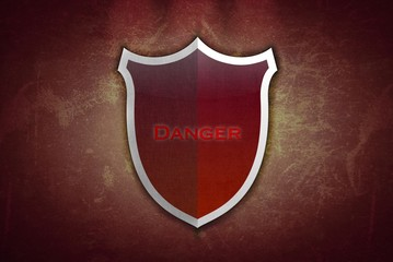 Danger shield.