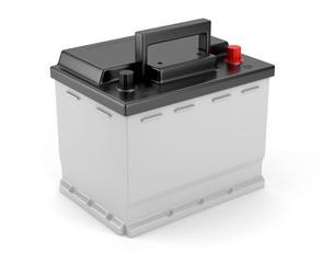 Batterie de voiture sur fond blanc 2
