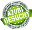 "Button Banner ""Azubi gesucht"" grün/silber"