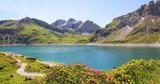 Fototapety Alpenidylle Lünersee