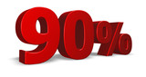 ninety per cent