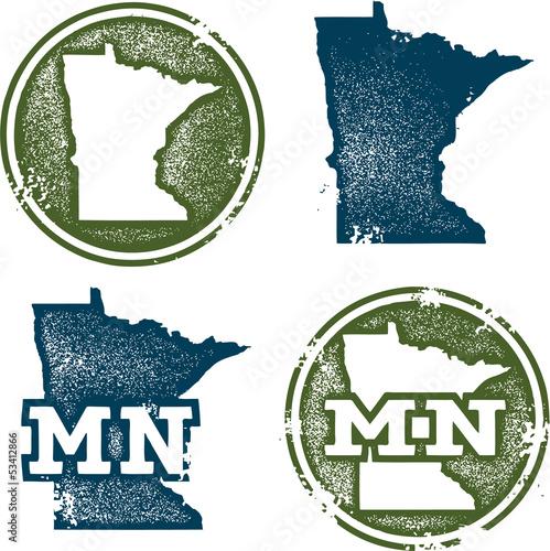 Minnesota State Stamps - 53412866
