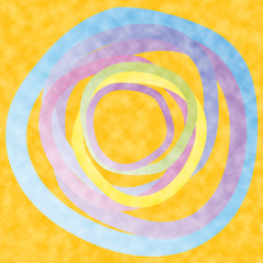 Esoterik - sonnige Farben
