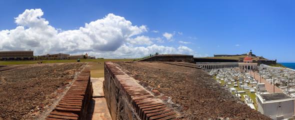 El Morrow fortifications and Santa Maria Magdalena de Pazzis cem