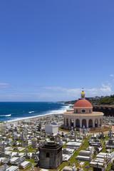 Santa Maria Magdalena de Pazzis cemetery  along ocean