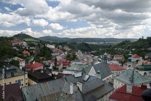 Banska Stiavnica - historical center and calvary hill